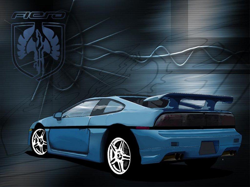 Cfog Downloads Pontiac Fiero Drawings