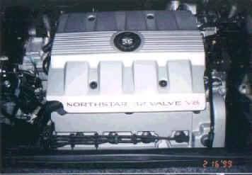 NorthStar V8 engin in Fiero